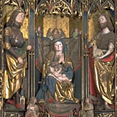 The Brixen Altarpiece, about 1500-1510. Museum No. 192-1866