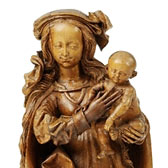 Virgin and Child, Veit Stoss