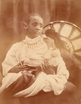 Julia Margaret Cameron, photograph of  Prince Alàmayou