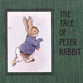 Beatrix Potter, 'Warne's cloth first edition of The Tale of Peter Rabbit'
