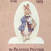 Beatrix Potter, 'Peter Rabbit's Almanac