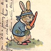 Beatrix Potter 'Reilly & Lee Co.'s The Story of Peter Rabbit, 1920'