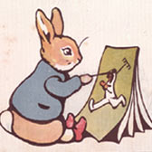 Beatrix Potter 'Peter Rabbit's Painting Book (1911)'