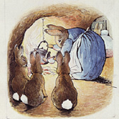 Beatrix Potter, 'Original illustration (unused) for The Tale of Peter Rabbit'