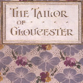 Beatrix Potter 'De luxe first edition of The Tailor of Gloucester' © Frederick Warne & Co. 2006