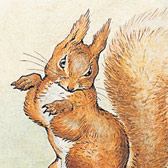 Beatrix Potter, 'Original illustration for the cover of The Tale of Squirrel Nutkin' © Frederick Warne & Co. 2006