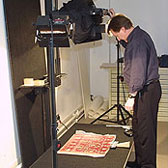 Photographing 2-Dimensional museum objects in the photo studio