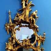 Mirror, attributed to Thomas Johnson