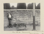Sir Benjamin Stone, 'Iron Stocks. Painswick Gloucestershire 1902'. Museum no. E.2332-2000