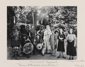 "Sir Benjamin Stone, 'Warwick Pageant ""Queen Ethelfleda and Britons"" July 1906'. Museum no. E.680-2001"