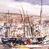 Beatrix Potter, 'The harbour at Teignmouth'