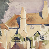 Beatrix Potter, 'Sketch of a cottage'