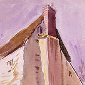 Beatrix Potter, 'Cottage at Teignmouth'
