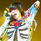 Christina Joy, 'Day of the Dead' bodysuit worn by Karen O of the Yeah Yeah Yeahs