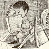 Maurice Sendak, finished drawing for The Big Green Book