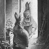 Beatrix Potter, 'The Rabbits' Potting Shed'
