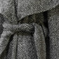 Tess Giberson, Wool herringbone coat