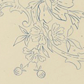 Design for needlework pattern depicting anemones, Francis Johnston