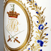 Beer or ale mug, 1772-99. Museum no. C.65-1921. Given by Alfred Darby Esq.