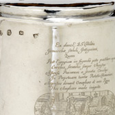 The Lushington Tankard, 1675. Private Collection