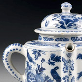Posset pot, Late 17th or early 18th century. Museum no. 3841-1901