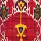 Ikat length with red medallions. Museum no. 7941A (IS)
