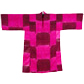 Robe with bright pink squares, from the Rau collection