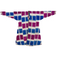 Man's robe with pink and blue squares, from the Rau collection