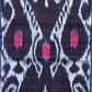 Ikat length with a dark blue background. Museum no. 2112 (IS)