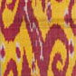 Ikat length with red design. Museum no. 2110 (IS)