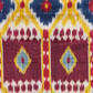 Ikat length with red squares. Museum no. 2106 (IS)