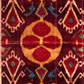 Velvet ikat cloth. Museum no. T.30-1930
