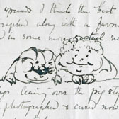 Beatrix Potter, Letter to Fruing Warne