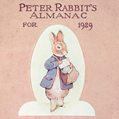 Peter Rabbit's Almanac for 1929, Frederick Warne & Co.