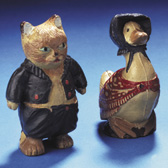Rubber dolls of Tom Kitten, Jemima Puddle-duck