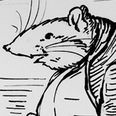 Preliminary illustration for The Roly-Poly Pudding, Beatrix Potter