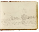 Fair at East Bergholt. Constable Sketchbook
