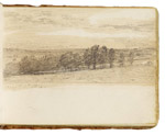 Dedham Vale (?). Constable Sketchbook