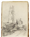 Stoke-by-Nayland. Constable Sketchbook