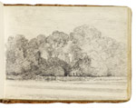 Tattingstone Church. Constable Sketchbook
