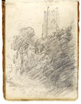 Stoke-by-Nayland Church. Constable Sketchbook