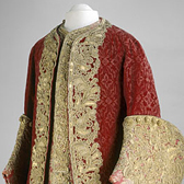 Coat and waistcoat, about 1729
