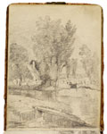 Flatford Mill. Constable Sketchbook