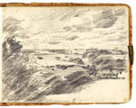 Dedham Vale. Constable Sketchbook