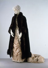 Evening dress, Mrs. Golding