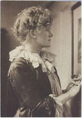 Portrait of Ellen Terry, Frederick Hollyer