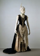 Evening dress, E. Wiggins