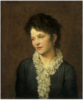 Portrait of Agathonike Ionides, G.F. Watts