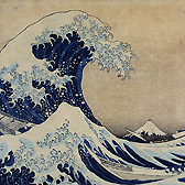 'The Great Wave' by Katsushika Hokusai, Japan