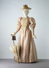 Day dress, designer unknown
